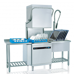 Industrial Stainless Steel Hood Dishwasher Machine for Restaurant