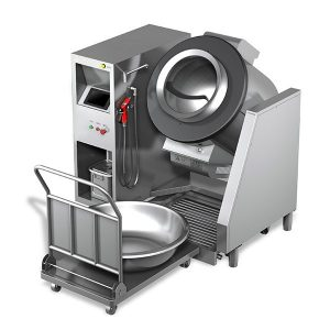 Cooking 30Kg Dish Fried Kitchen Robot for Chinese Food