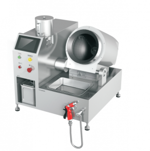Semiautomatic Cooking 1.5Kg Dish Fried Cooking Robot for Chinese Restaurant